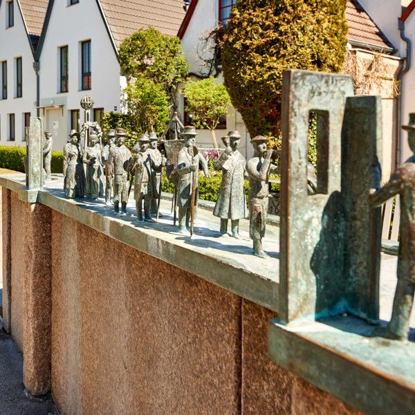 Warnemünde Steinfiguren